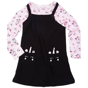 Girls (4-6x) Colette Lilly 2pc. Jumper with Unicor