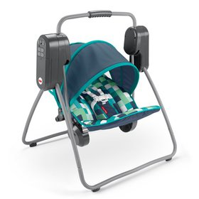 Fisher-Price On-The-Go Swing -- Pixel Forest, Trav