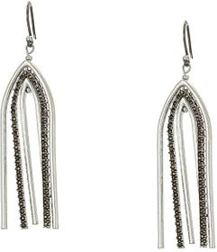 Lucky Brand Pave Arches Earrings