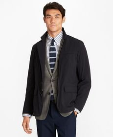 Brooks Brothers Water-Repellent Stretch Hybrid Jac