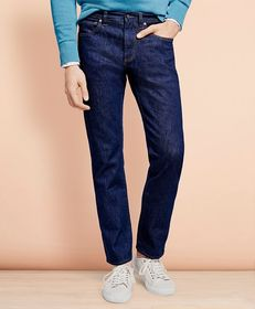 Brooks Brothers 901 Slim Straight Stretch Jeans in