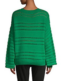 Willow & Clay Pointelle Knit Sweater