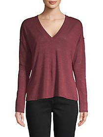 Project Social T Textured High-Low Top