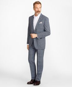 Brooks Brothers Madison Fit Combo Check 1818 Suit