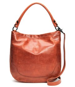 Frye Melissa Washed Leather Hobo Bag