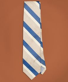 Brooks Brothers Golden Fleece® Striped Silk-Linen