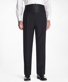 Brooks Brothers 1818 Pleat-Front Tuxedo Trousers
