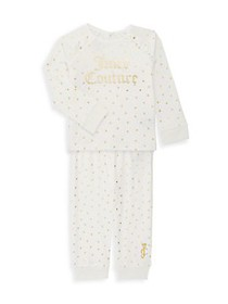 Juicy Couture Baby Girl's 2-Piece Polka Dot Sweats