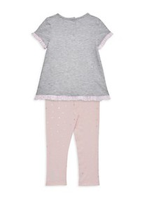 Juicy Couture Baby Girl's 2-Piece Embellished Tee