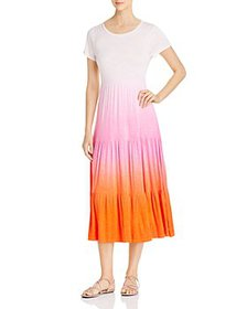 Design History - Dip-Dyed Tiered Maxi Dress