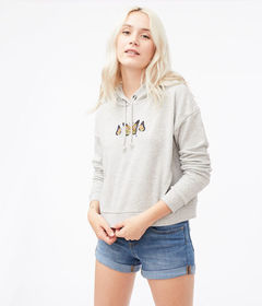 Aeropostale Butterfly Trio Pullover Hoodie***