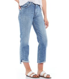 Hudson Jeans Remi High Rise Straight Crop Jean