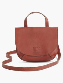 Lucky Brand Point Leather Double Pocket Crossbody