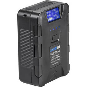 Watson 14.4V 50Wh Micro V-Mount Battery with USB T