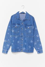 Nasty Gal Light blue Baby You're a Star Relaxed De