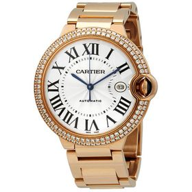 Pre-ownedCartierBallon Bleu de Automatic Men's Wat