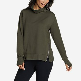 Women's Everyday Enliven Side-Zip Funnel-Neck Pull