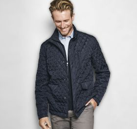 Johnston Murphy Quilted Jacket