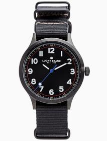 Lucky Brand Jefferson Nato Black Watch, 38mm