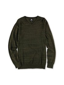 Rock & Republic Mens Knit Pullover Sweater, Green,