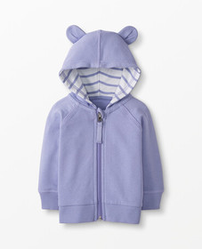 Hanna Andersson Bright Basics Bear Hoodie