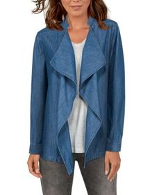 Natural Reflections Chambray Jacket for Ladies
