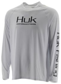 Huk Pursuit Vented Fishing Long-Sleeve Shirt for M