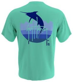 Guy Harvey Marlin Wave Short-Sleeve T-Shirt for Me