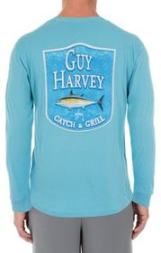 Guy Harvey Adventure Ahead Long-Sleeve T-Shirt for