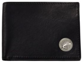 Weber's Dynasty Leather Bifold Wallet with Bass Co