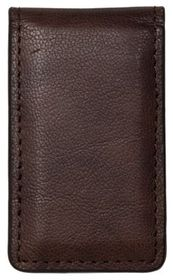 RedHead Crunch Leather Magnetic Money Clip