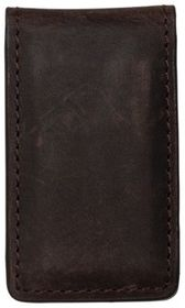 RedHead Nubuck Leather Magnetic Money Clip