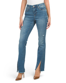 SEVEN7 High Rise Micro Bootcut Jeans