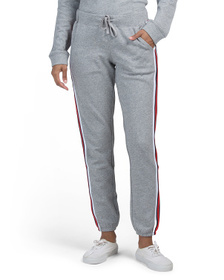 ANOTHER LOVE Courtney Athletic Stripe Sweatpants
