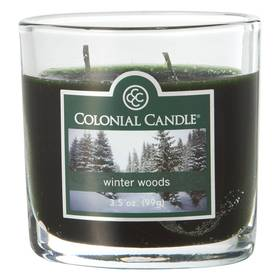 Colonial Candle Winter Woods 4oz. Jar Candle