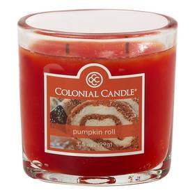 Colonial Candle Pumpkin Roll 4oz. Jar Candle