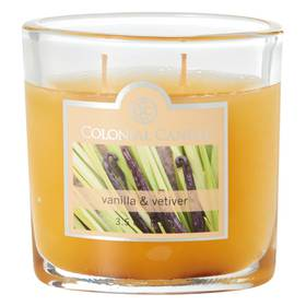 Colonial Candle Vanilla and Vetiver 3.5oz. Jar Can