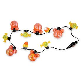 Disney Mickey Mouse Pumpkin Light-Up Necklace