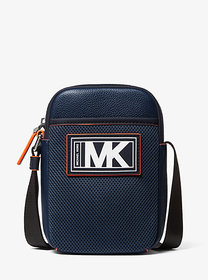 Michael Kors Cooper Pebbled Leather and Mesh Smart