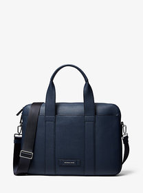 Michael Kors Cooper Pebbled Leather Briefcase