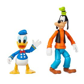 Disney Goofy and Donald Duck Action Figure Set – D