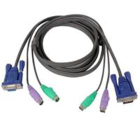 IOGEAR Micro Lite PS/2 10 foot KVM Cable