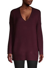 French Connection Ribbed Longline Sweater