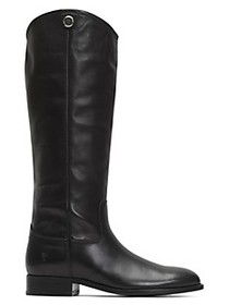 Frye Melissa Leather Riding Boots - ​Wide Calf