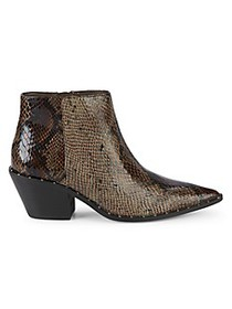 Charles by Charles David Snakeskin Embossed Faux L