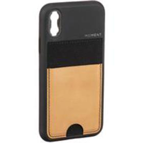 Moment iPhone XS Wallet Photo Case, Natural Leathe