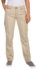 Natural Reflections Cargo Stretch Twill Pants for