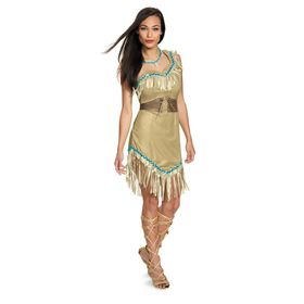Disney Pocahontas Prestige Costume for Adults by D