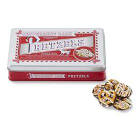 Williams Sonoma Peppermint Bark Pretzels