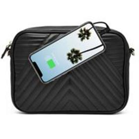Mighty Purse GEO X-Body Bag with Built-In Phone Ch